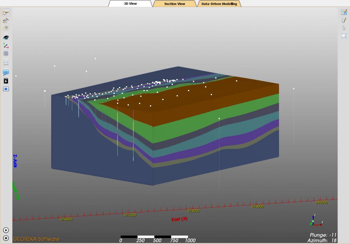 Tremendous Stratigraphic Modelling 3D Geological Modelling Georeka Software Wiring 101 Xrenketaxxcnl